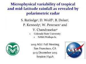 Microphysical variability of tropical and midlatitude rainfall as