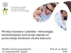 Piroliza biomase i plastike tehnologija termokemijske konverzije otpada