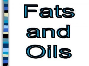 1 Fat Is The most CONCENTRATED source of