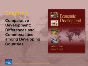 Chapter 2 Comparative Development Differences and Commonalities among
