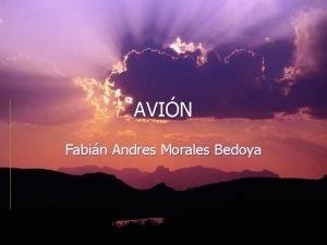 AVIN Fabin Andres Morales Bedoya ORGENES Orville y