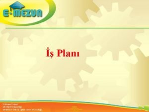 Plan Faal 2 7 100 Gen Giriimcilik Eitimi