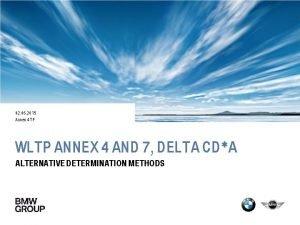 02 06 2015 Annex 4 TF WLTP ANNEX