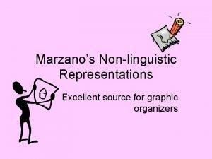 Marzanos Nonlinguistic Representations Excellent source for graphic organizers