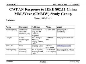 March 2012 doc IEEE 802 11 120398 r