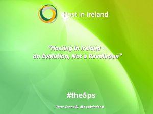 Host In Ireland Hosting in Ireland an Evolution