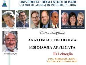 UNIVERSITA DEGLI STUDI DI BARI CORSO DI LAUREA