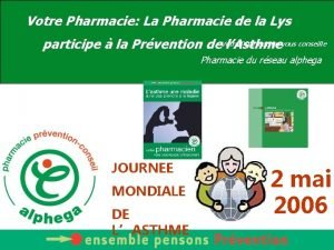 Votre Pharmacie La Pharmacie de la Lys Pharmacien