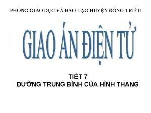 PHNG GIO DC V O TO HUYN NG
