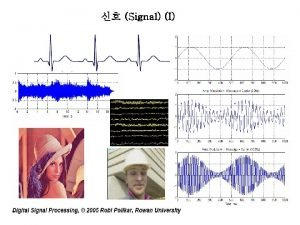 Signal I Signal III Signal Continuous Time Signal