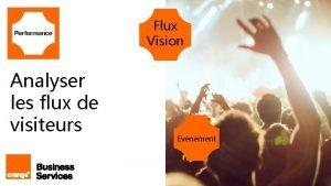 Flux Vision Analyser les flux de visiteurs 1