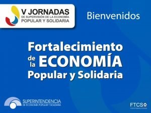 La economa social y solidaria en el Ecuador