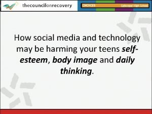 How social media and technology may be harming
