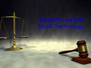 Copyright Law and Music Technology Fair Use Fair