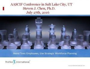 AASCIF Conference in Salt Lake City UT Steven