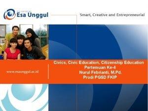 Civics Civic Education Citizenship Education Pertemuan Ke4 Nurul