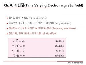 8 1 ABLE Electromagnetics 8 2 ABLE Electromagnetics