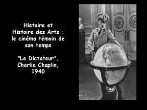 Histoire et Histoire des Arts le cinma tmoin