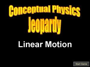 Linear Motion Speed Velocity Acceleration Free Fall Fast