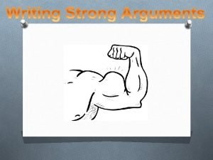 What is an argument An argument is an