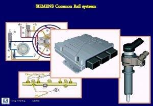 SIEMENS Common Rail systeem Training Opleiding 11302020 SIEMENS