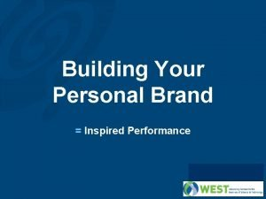 Building Your Personal Brand Inspired Performance Objectives What