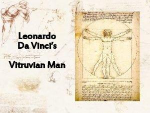 Leonardo Da Vincis Vitruvian Man The Vitruvian Man