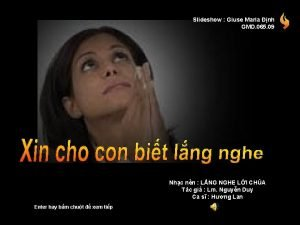 Slideshow Giuse Maria nh GMD 065 09 Nhc