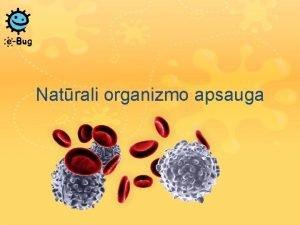 Natrali organizmo apsauga Natrali organizmo apsauga Kiekvien dien