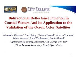 Bidirectional Reflectance Function in Coastal Waters And its