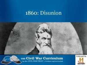 1860 Disunion Compromises United States in 1820 How