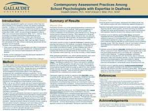 Contemporary Assessment Practices Among School Contemporary Assessment Practices