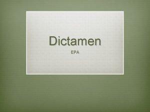 Dictamen EPA Personal acadmico v EPA IV CU