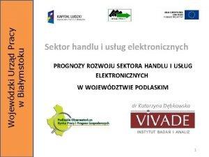 Wojewdzki Urzd Pracy w Biaymstoku Sektor handlu i