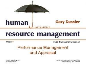 Gary Dessler tenth edition Chapter 9 Part 3