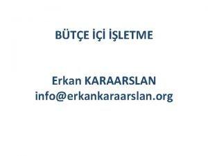 BTE LETME Erkan KARAARSLAN infoerkankaraarslan org LETME 5393