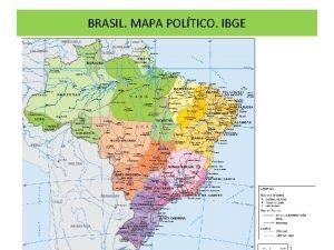 BRASIL MAPA POLTICO IBGE Brasil Mapa Fsico IBGE