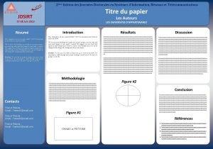 2me Edition des Journes Doctorales en Systmes dInformation