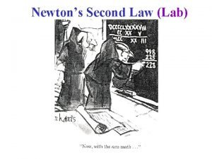 Newtons Second Law Lab Inertia Mass Inertia The