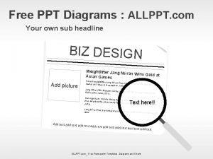Free PPT Diagrams ALLPPT com Your own sub