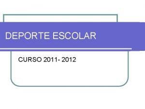DEPORTE ESCOLAR CURSO 2011 2012 JUGANDO AL ATLETISMO