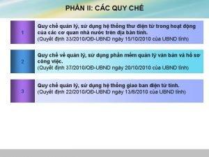 PHN II CC QUY CH 1 Quy ch