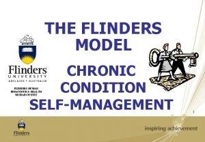 THE FLINDERS MODEL CHRONIC CONDITION SELFMANAGEMENT FLINDERS HUMAN
