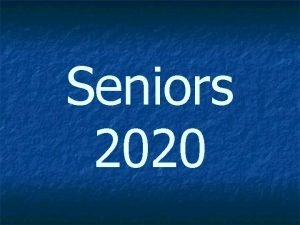 Seniors 2020 College Admission Tests used for admission