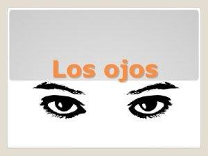 Los ojos Los ojos Refrn Ejemplos de los