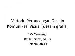 Metode Perancangan Desain Komunikasi Visual desain grafis DKV