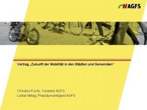 Vortrag Zukunft der Mobilitt in den Stdten und
