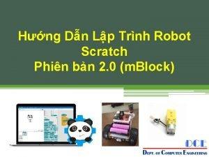 Hng Dn Lp Trnh Robot Scratch Phin bn