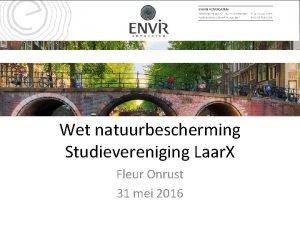Wet natuurbescherming Studievereniging Laar X Fleur Onrust 31