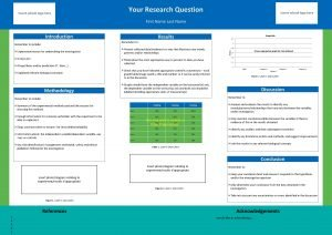Insert school logo here Your Research Question Insert